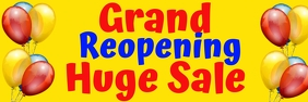 Grand Reopening Huge Sale after Cornavirus