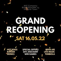 Grand ReOpening Party event Celebration Video
