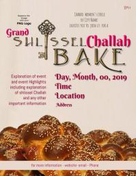 Grand Shlissel Challah Bake Flyer