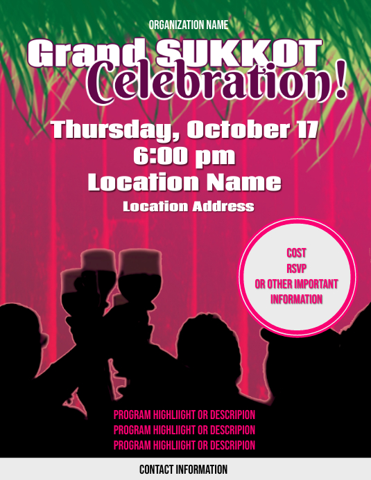 Grand Sukkot Celebration
