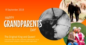 Grandparents Day Facebook Shared Image template