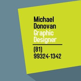 Graphic Designer instagram ad template square