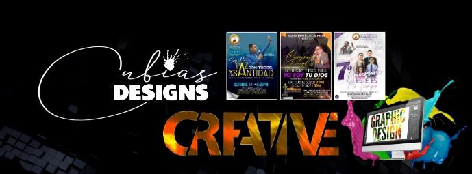 graphic designer Foto Sampul Facebook template