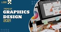 Graphics Design 2021 Obraz udostępniany na Facebooku template