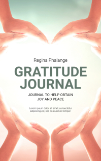 Gratitude Book Cover Template Sampul Buku