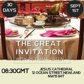 Great Invitation Template