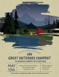 Great Outdoors Campout Camping Trip