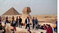 great pyramid of giza in egypt YouTube Thumbnail template