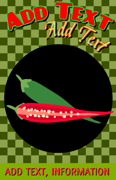 green and red chilli ( chili ) peppers