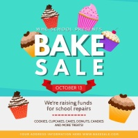Green Bake Sale Square Video