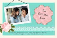 Green Best Mom Personalized Wish Mother's Day