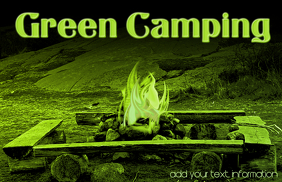 Green camping for the enviroment
