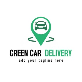 green car delivery location