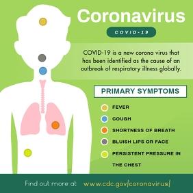 Green Coronavirus Symptoms Instagram