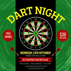 Green Dart Night Competition Square Video
