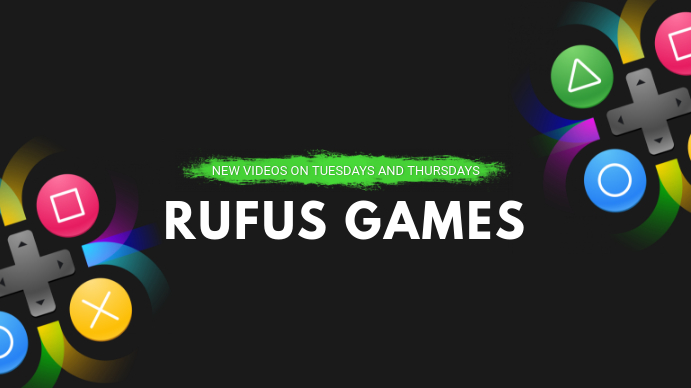 Green Gaming Channel YouTube Banner