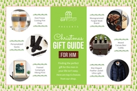 Green Gift Guide for Him Flyer