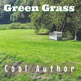 Green Grass Album Song Cover template