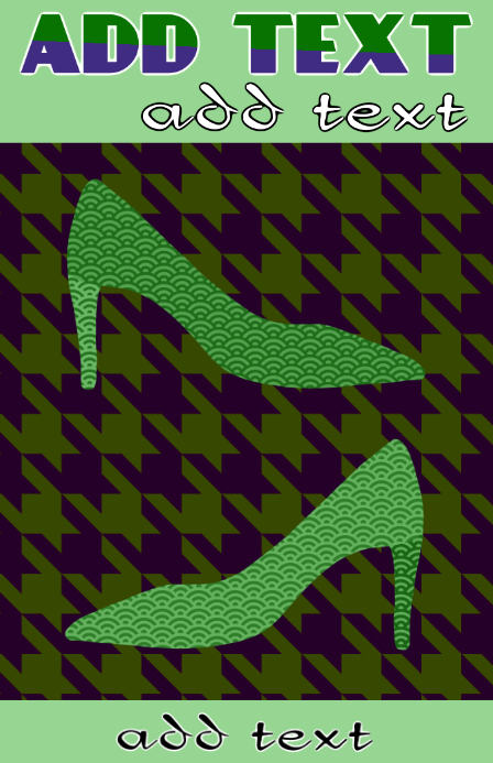 green high heels - for vintage or retro shoe lovers