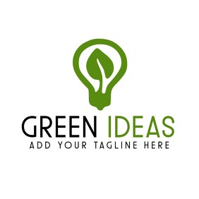Green ideas icon logo