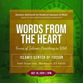 Green Islamic Community Sessions Instagram Im