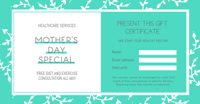 Green Mother's Day Special Gift Certificate