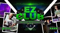 Green Neon DJ Music YouTube Thumbnail Video T Isithonjana se-YouTube template