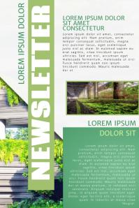 Green Newsletter Template