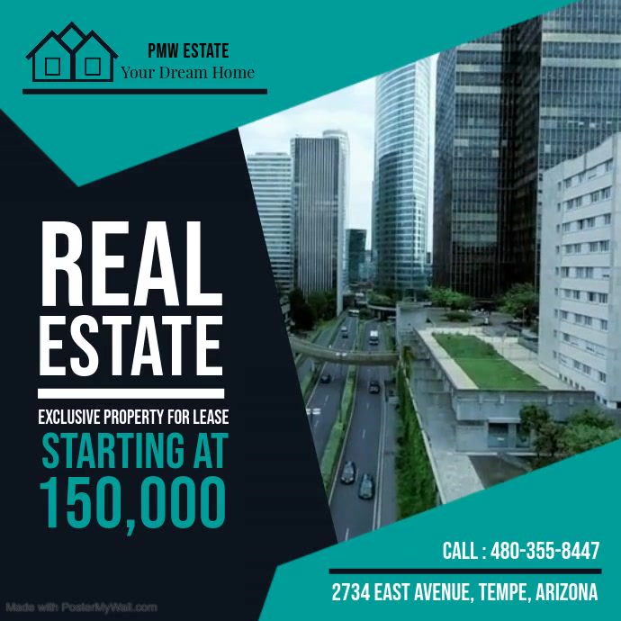 Green Real Estate Video Ad