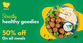 Green Restaurant Discount Offer Facebook Shop