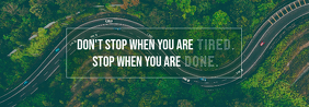 Green Roads Quote Tumblr Banner
