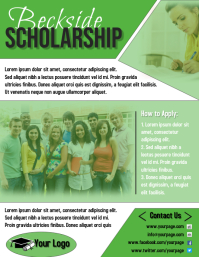 Green Scholarship Flyer