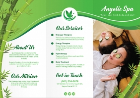 Green Spa Brochure