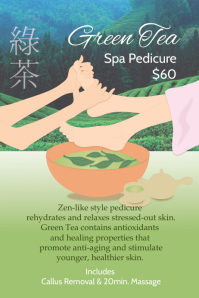green tea spa