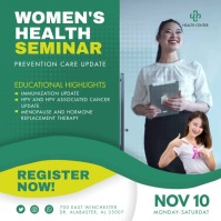 Green Women's Health Conference Ad