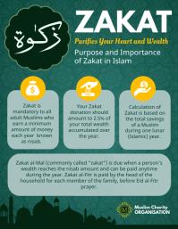 50 Zakat Facts Customizable Design Templates Postermywall
