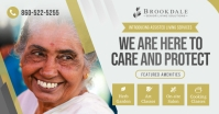 Grey Assisted Living Facebook Image template