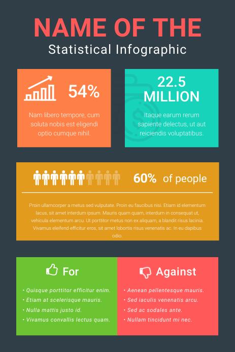 Grey Blog Pinterest Infographic template