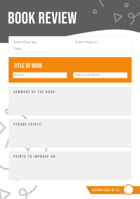 Grey Book Review Worksheet