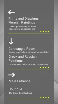 Grey Digital Display Directory Template