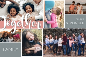 Grey Family Photo Collage