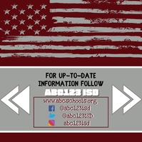 Grey Flag Social Media Instagram-bericht template