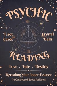 Grey Psychic Tarot Card Reading Template Iphosta