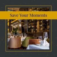 Grey Restaurant Ambience Instagram Image