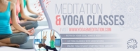 Grey Yoga Facebook Cover Photo Facebook-Cover template