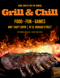 Grill & Chill Flyer
