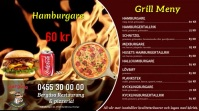 Grill meny Demo Tampilan Digital (16:9) template