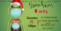 Grinchmas Poster Facebook template
