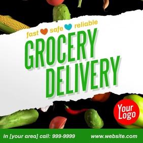 Grocery Delivery Instagram Facebook Video