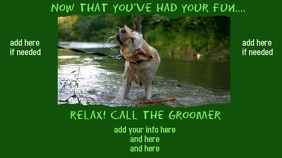 Groomer Video Advertisement